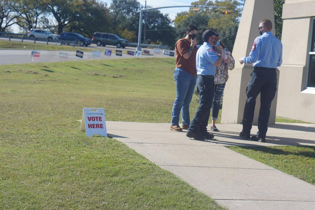 Early morning voting on Election Day brings shorter lines