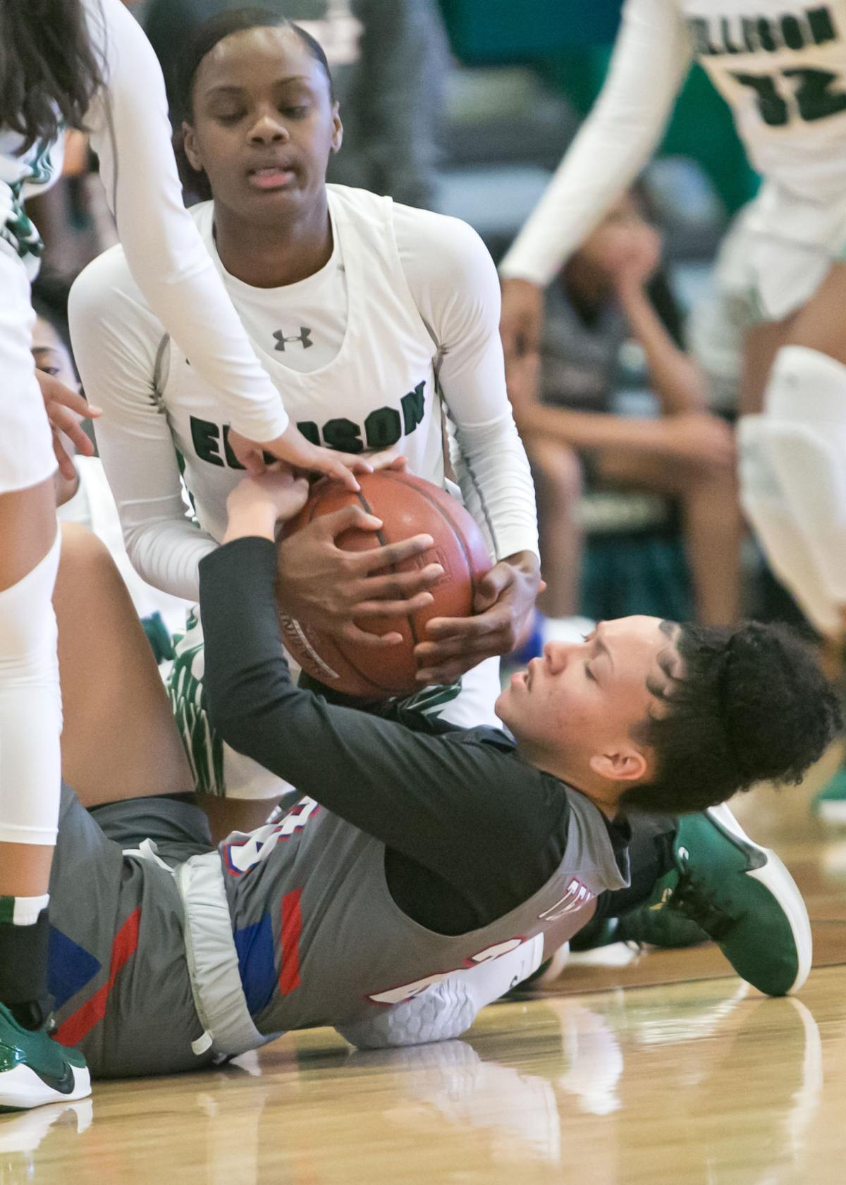 Temple vs. Ellison Girls Basketball