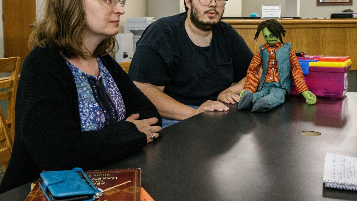 Heights library holds monthly Fiber Frenzy