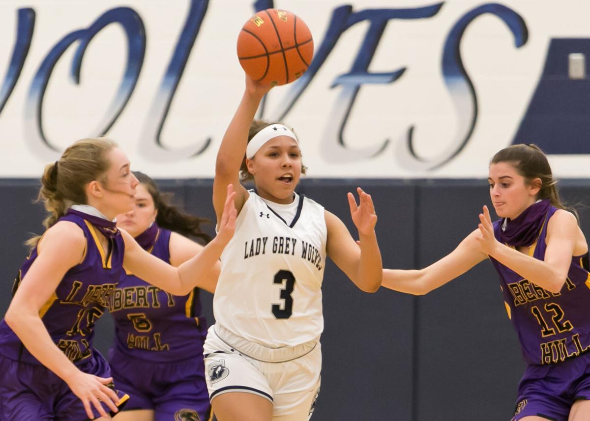 Liberty Hill at Shoemaker Girls Basketball