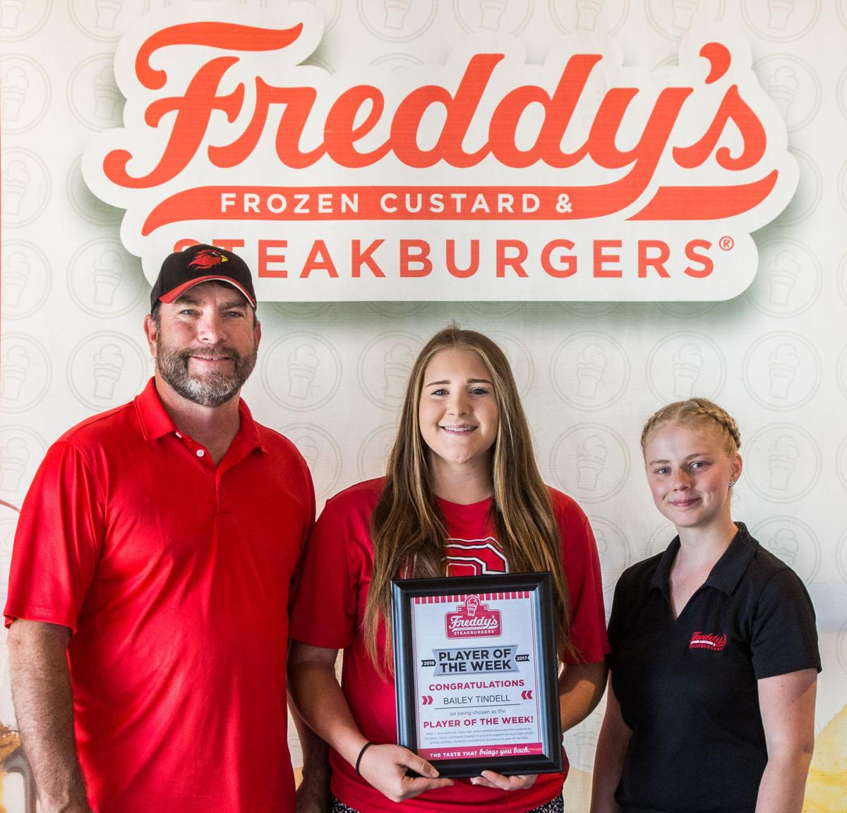 Freddy's-KDHpressbox.com Player of the Week Bailey Tindell
