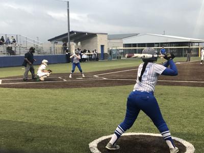 Cove vs. Mansfield Lake Ridge softball