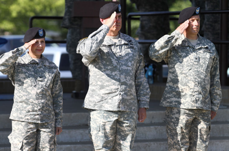 48th Chemical Brigade change-of-command