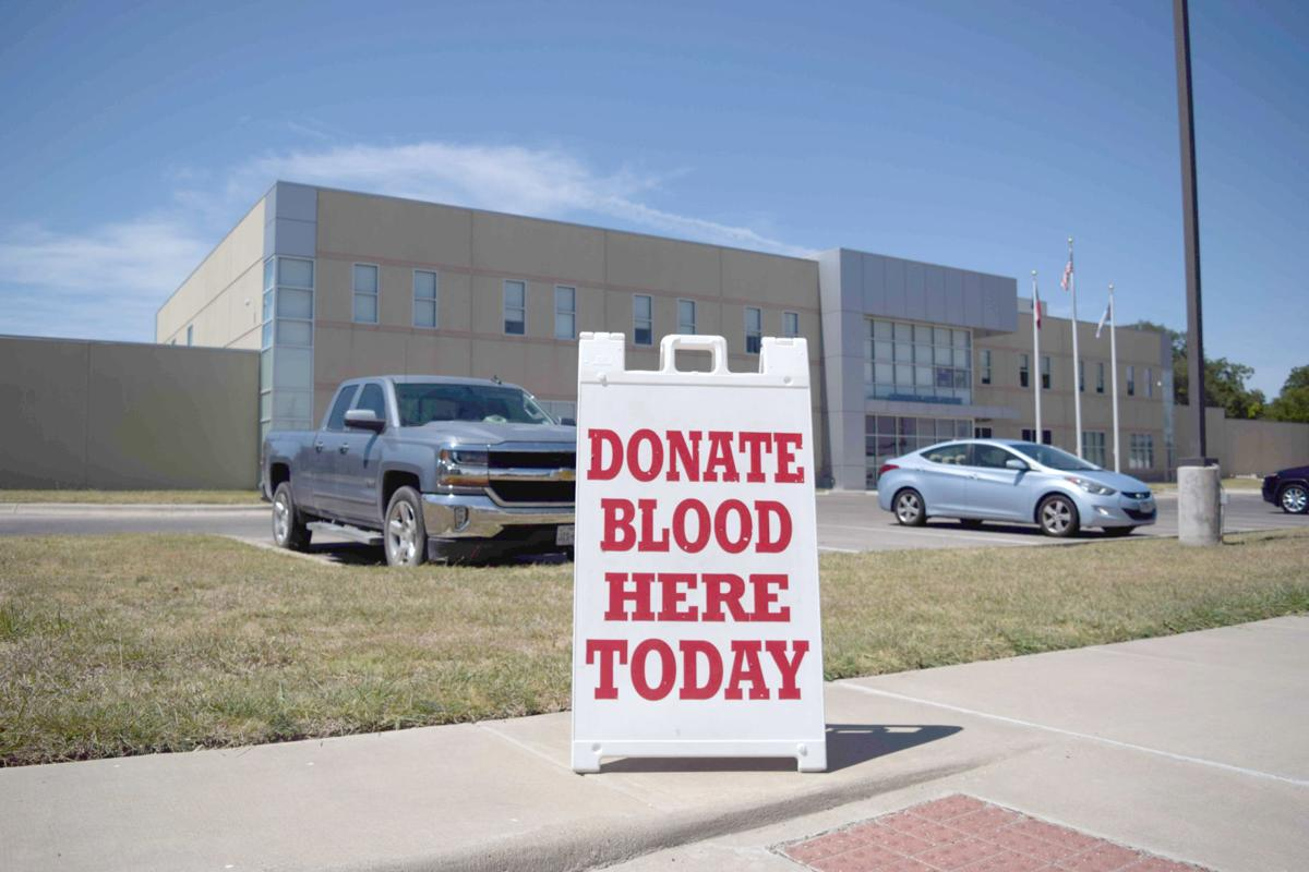 Cove blood drive