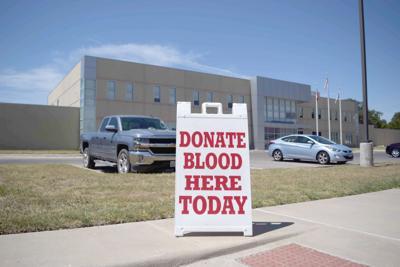 Cove blood drive