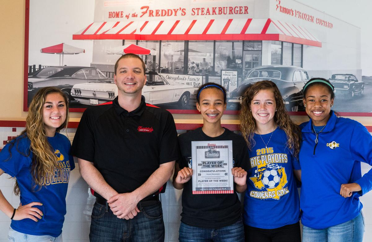 Freddy's-KDHpressbox.com Player of the Week Haven Stevenson