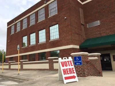Killeen City Hall polling place