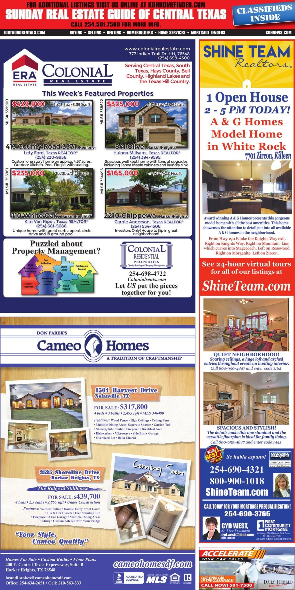 Sunday Real Estate Guide Sept 30th