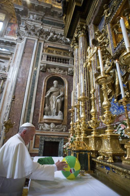 Italy Pope Francis Brazil