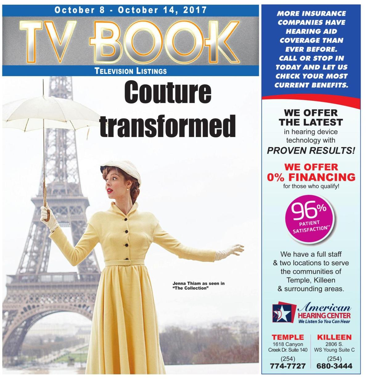 TV Book October 8th - 14th