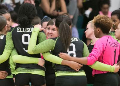 Waco Midway at Ellison Volleyball