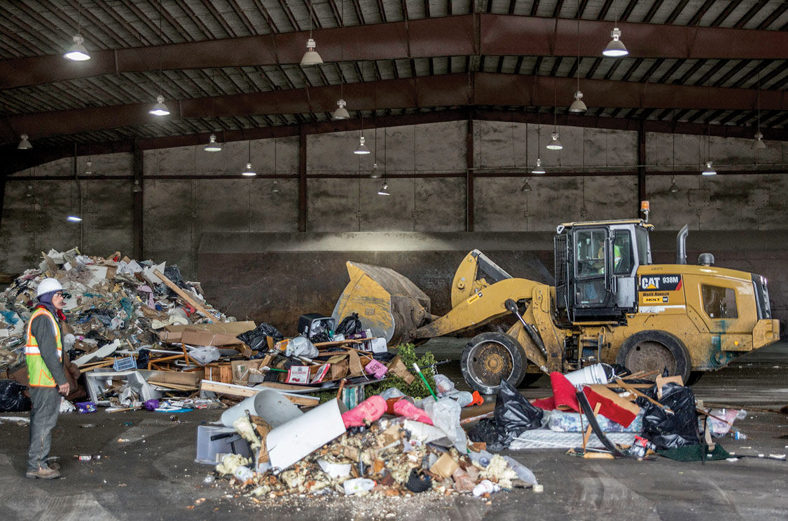city document outlines desired private solid waste service