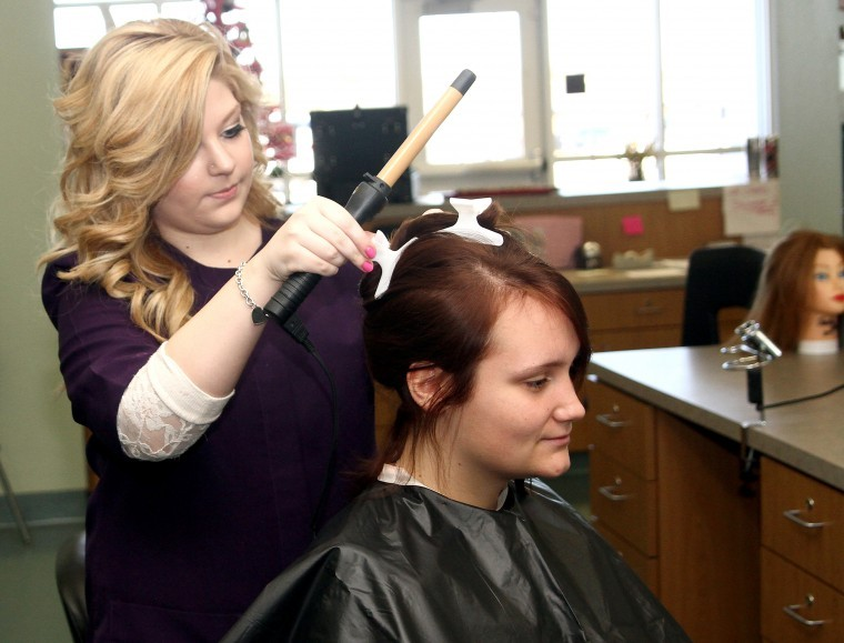 High School Students Put Cosmetology Skills To Use Education