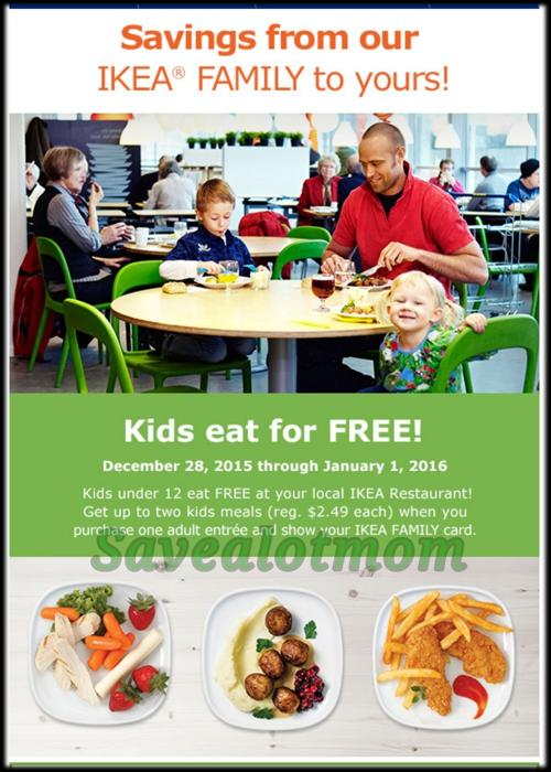 Ikea Free Kids Meals Save A Lot Mom
