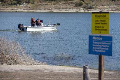 Belton Lake Search