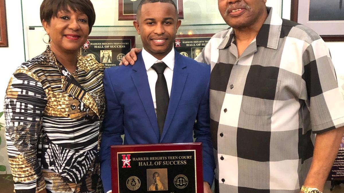Jones inducted into Teen Court Hall of Success