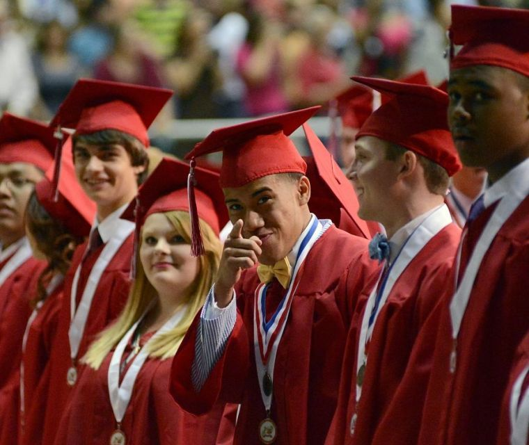 Belton High School graduation