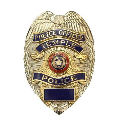 Temple Police badge