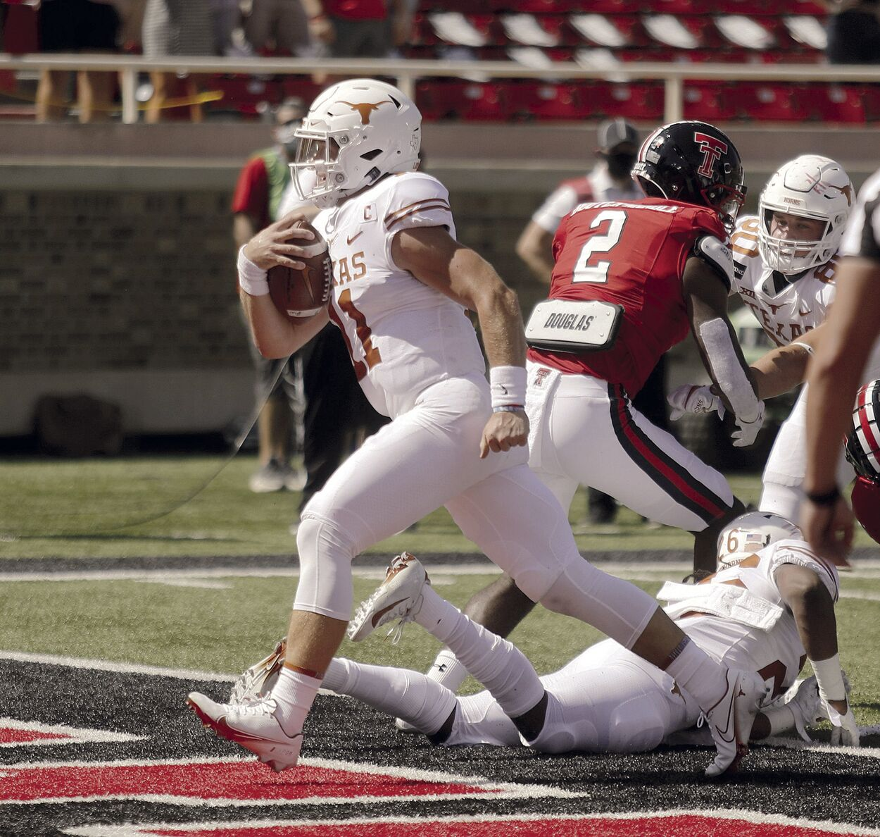 Texas rallies to beat Texas Tech in overtime of conference opener