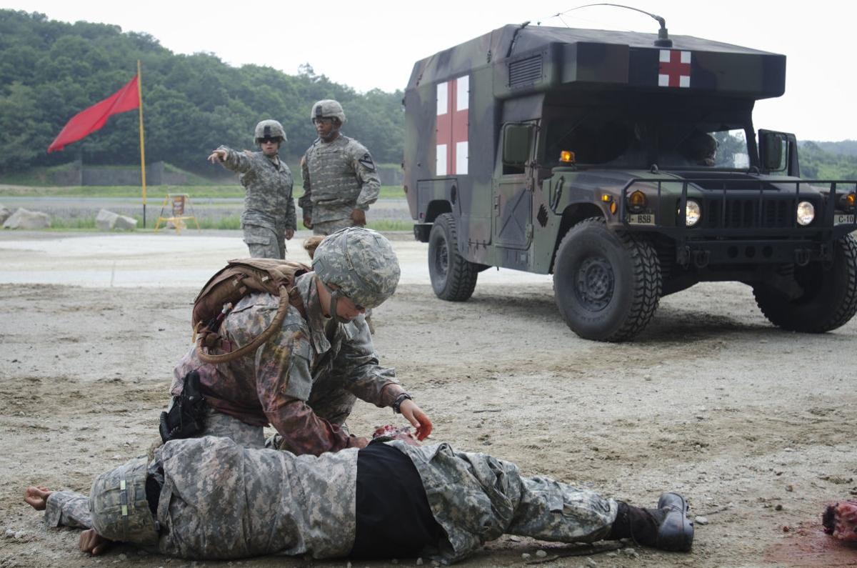 Combat medics train as they fight | Across the Fort | kdhnews.com