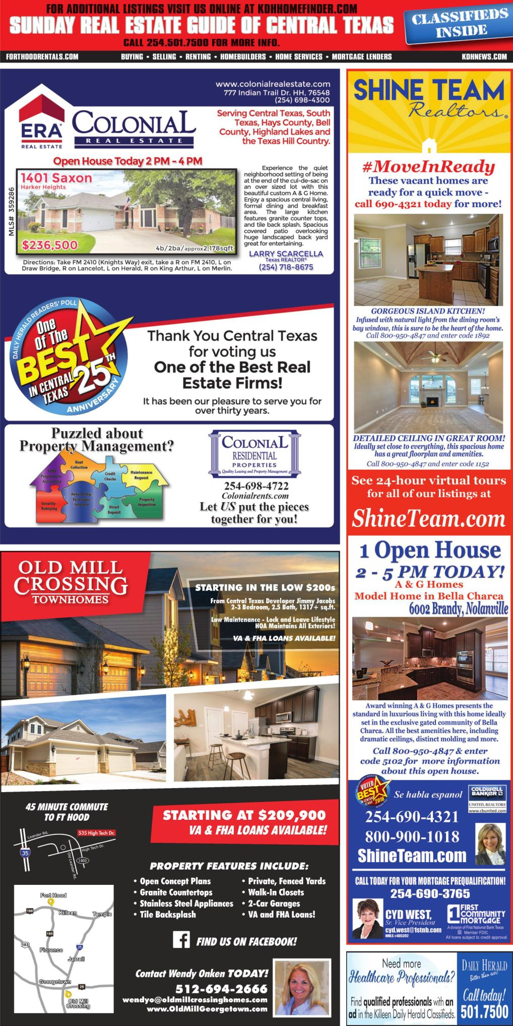 Sunday Real Estate Guide Feb. 3rd