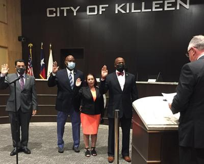 New Killeen council members