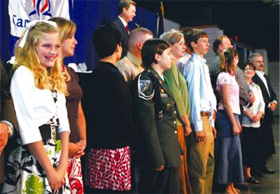 Youths honored for dedication to volunteering