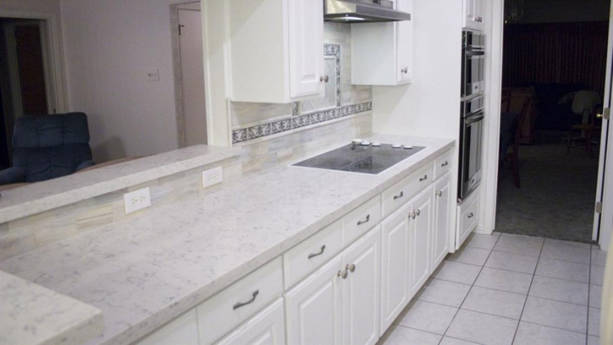 How much does it cost to install kitchen countertops? | At Home ...