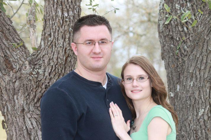 Elizabeth Ann Clark and David Ray Webster