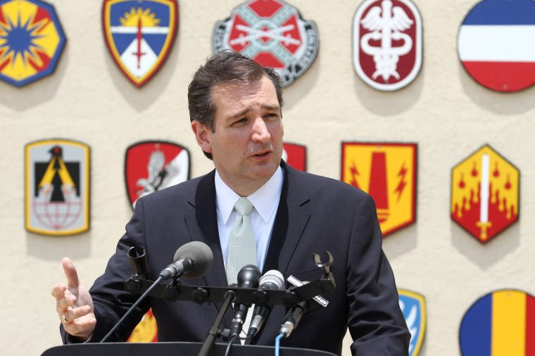 Sen. Ted Cruz at Fort Hood