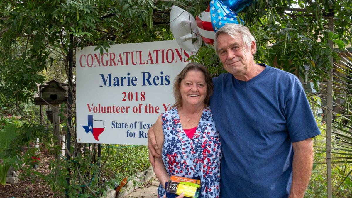 Local woman wins volunteer award