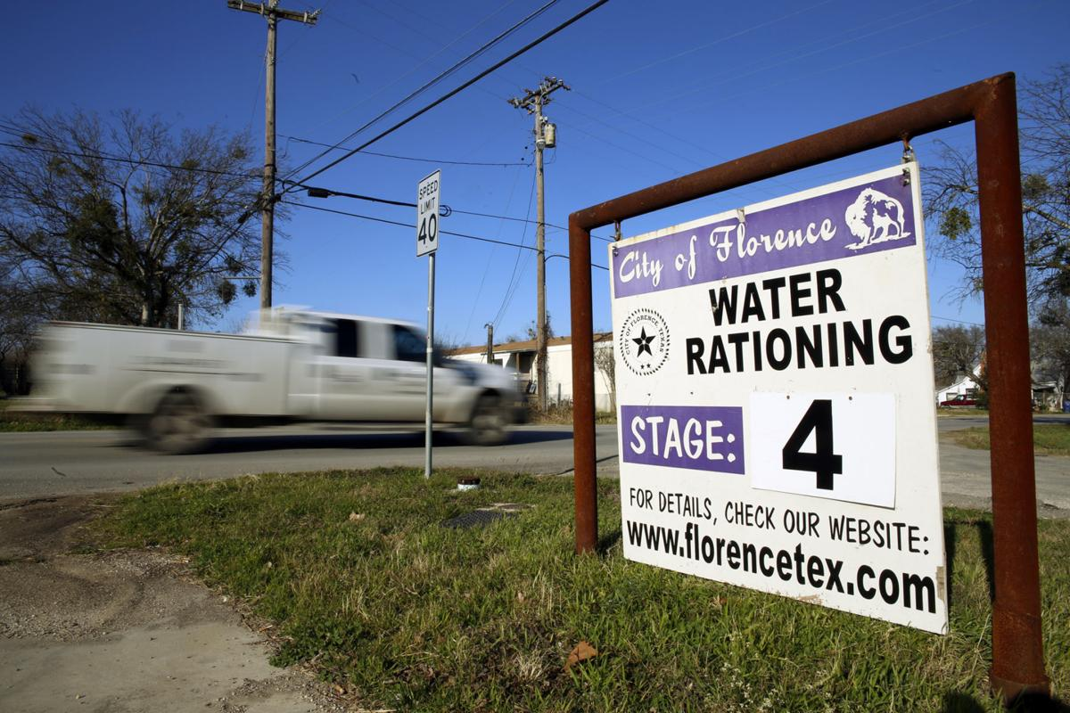 Water rationing
