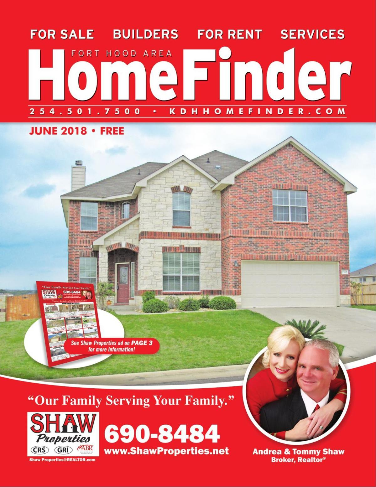 June 2018 Homefinder