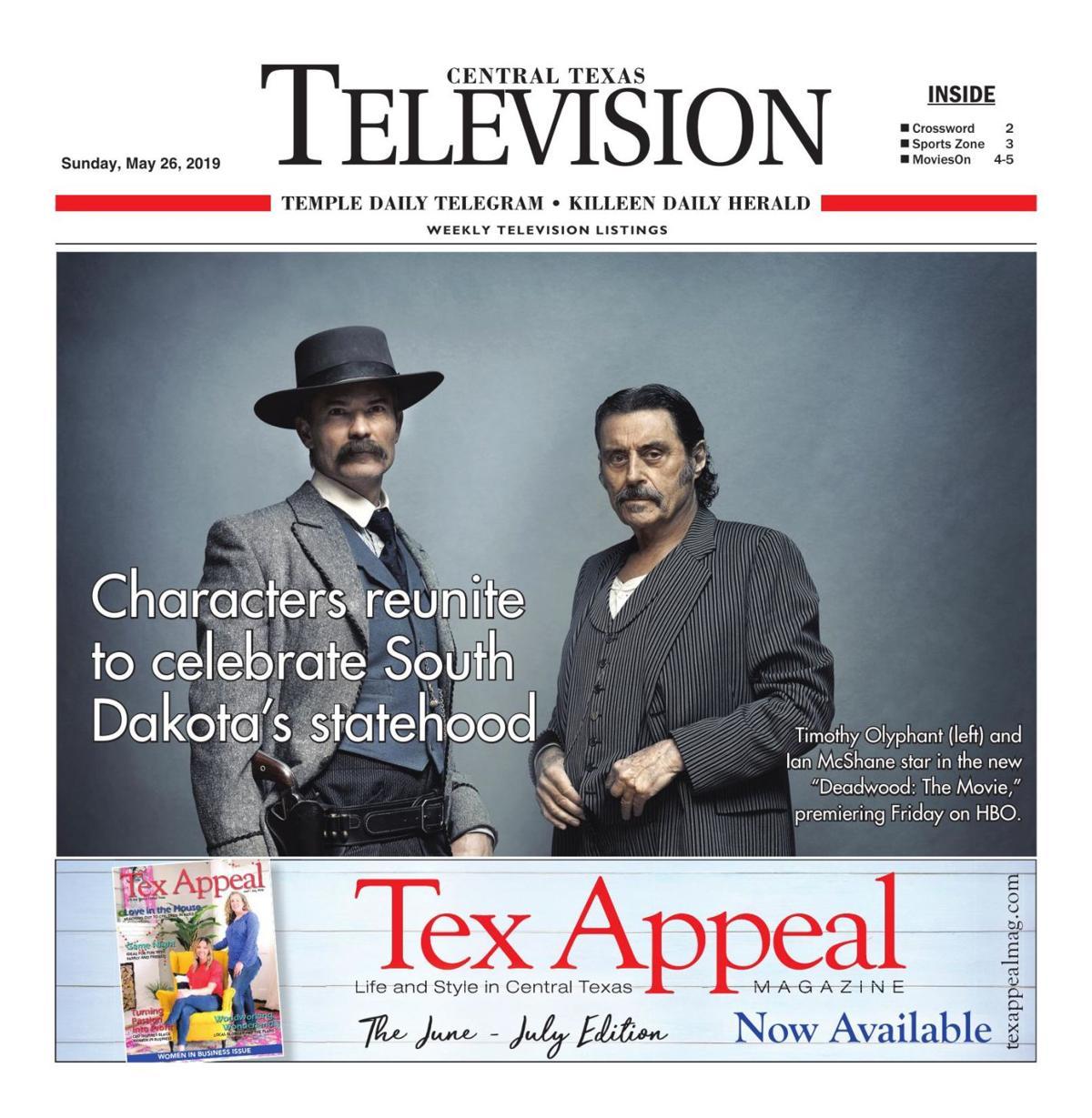 TV Book May 26th- June 1st