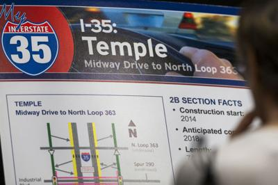 TxDOT: I-35 construction in Temple 'intense' for next four years