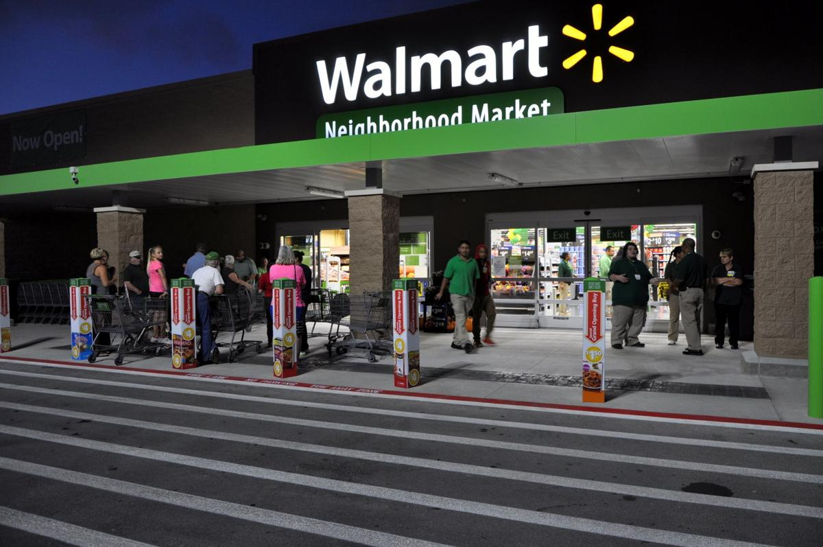 wal mart market opens residents of harker heights wait