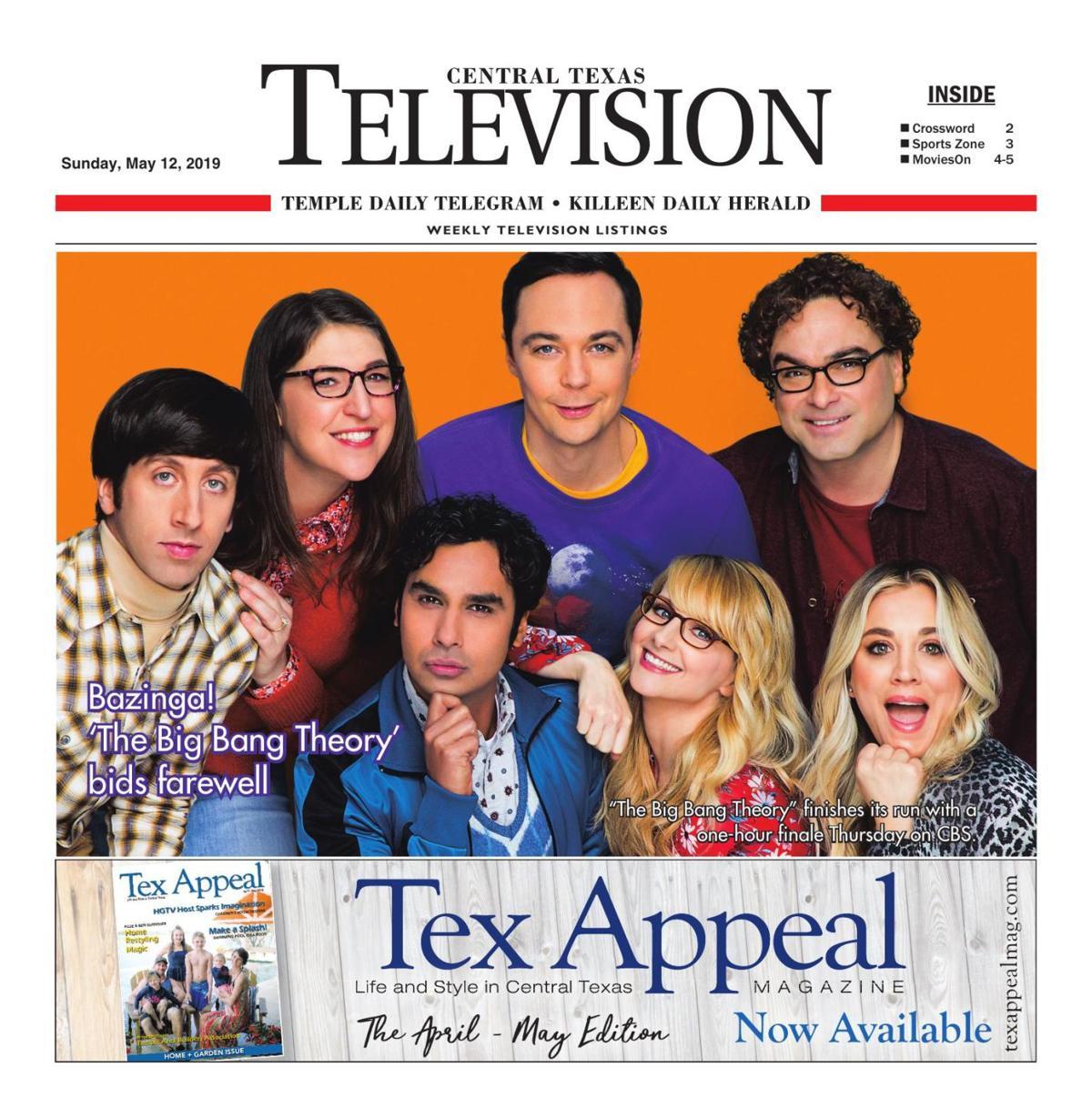 TV Book May 12th- 18th