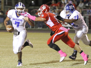 Badgers slow down Salado, win 42-28