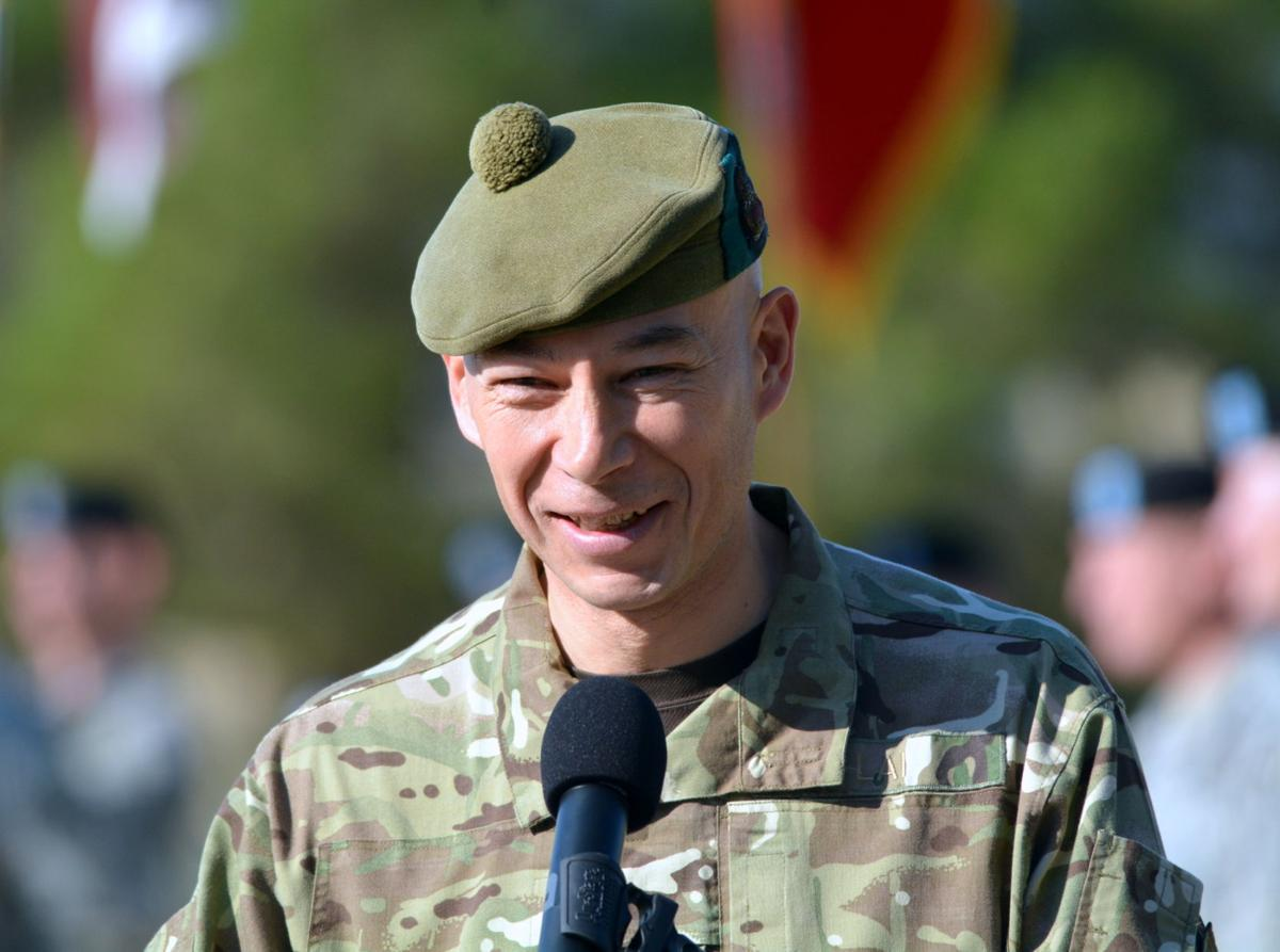 British general at Fort Hood