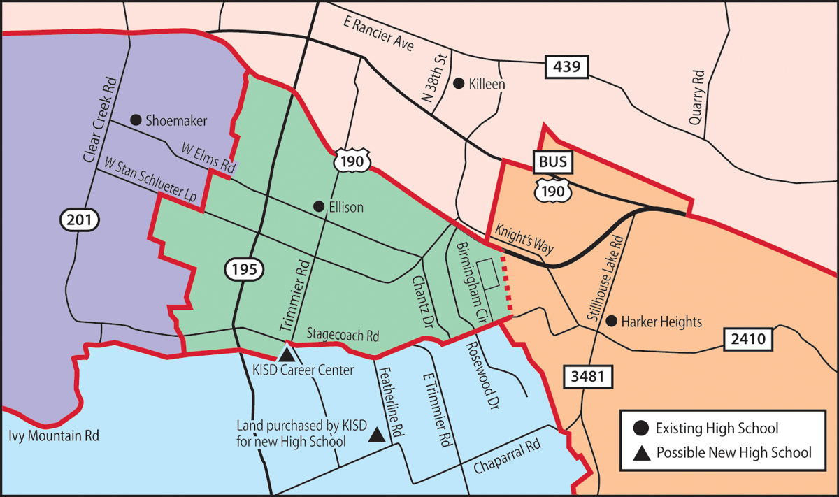 New school zone map