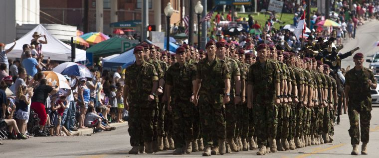 Belton's July Fourth Parade
