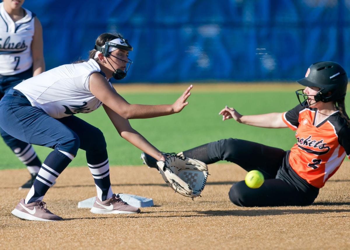Rockwall vs. Shoemaker Softball Class 6A bi-district playoff