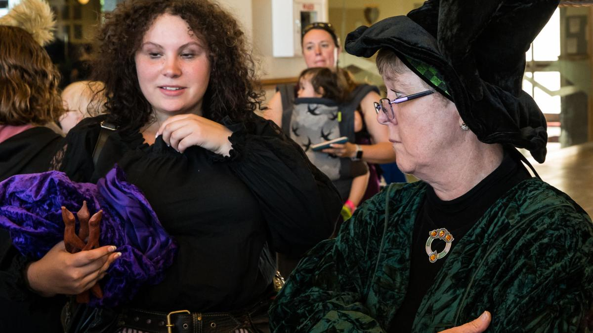Heights library transforms into Hogwarts for one magical night