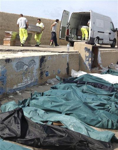 APTOPIX Italy Migrant Deaths