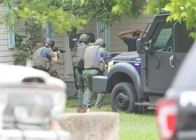Copperas Cove SWAT team makes an arrest