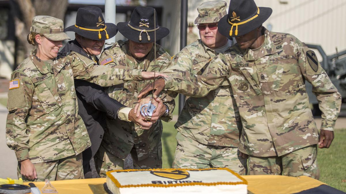 1st Cavalry Division rides into 96th year