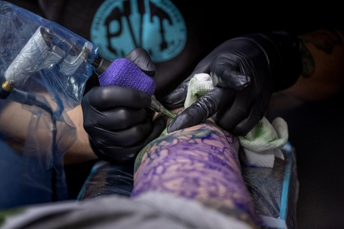 Precisely Veiled Tattoo