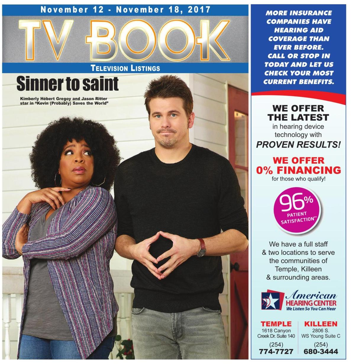 TV Book November 12th - 18th