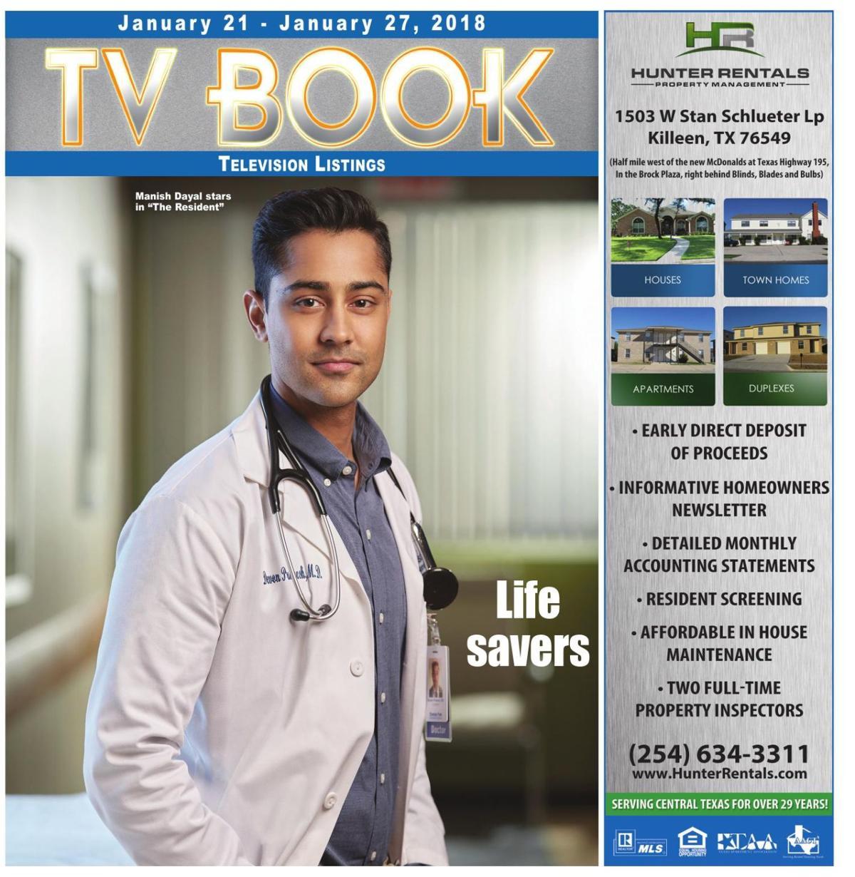 TV Book Jan 21st - Jan 27th