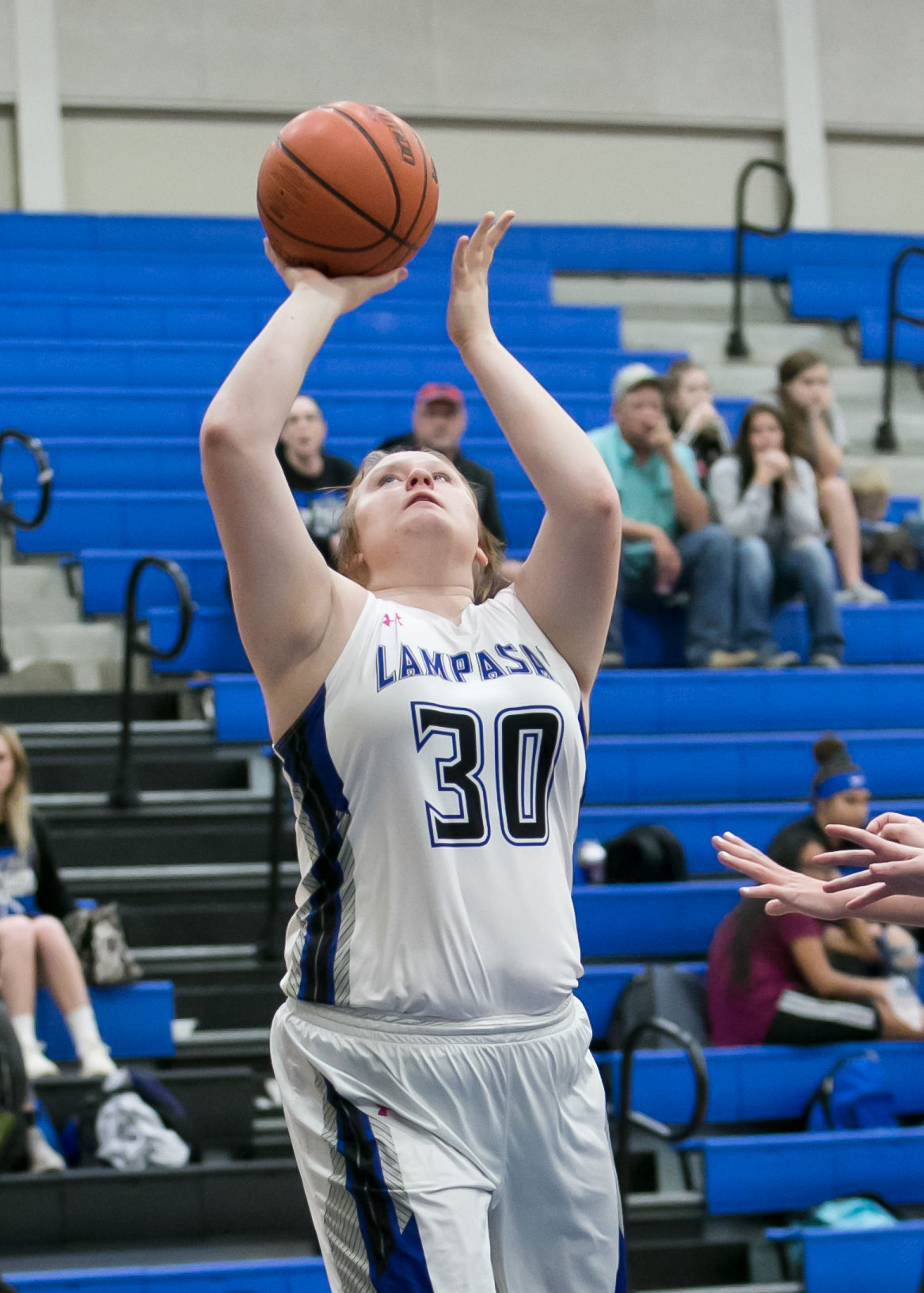 Jarrell vs. Lampasas Girls Basketball